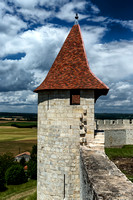 The New Turret from the Château Walls - Villebois-Lavalette, France