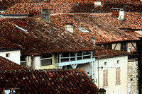 Rooftops - Aubeterre, France