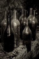 Old Bottles - Bourdeilles, France
