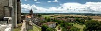 Panorama from the Château Walls - Villebois-Lavalette, France