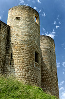 Two Towers at the Castle - Villebois-Lavalette, France