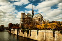 Notre Dame Cathedral III - Paris, France