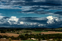 Looking East from the Puy Sanseau - Villebois-Lavalette