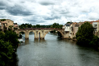 River Lot - Villeneuve sur Lot, France